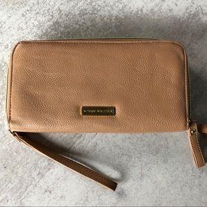 Steve Madden double zip wallet wristlet.